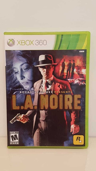 L.a.noire Xbox 360 Midia Física Original Pronta Entrega