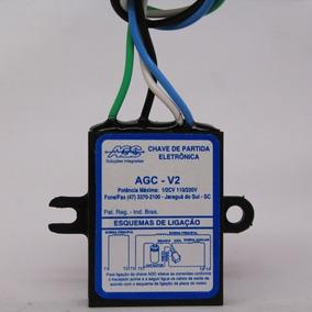 02 Chave Partida Agc V-2 Motor Até 1/2 Cv- 110/220 V