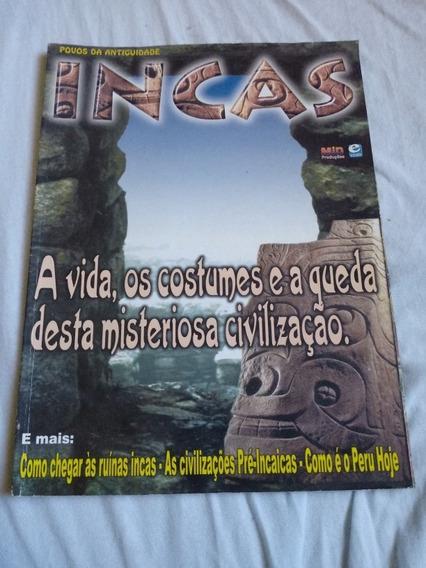 Revista Povos Da Antiguidades Incas. Ed. Escala.