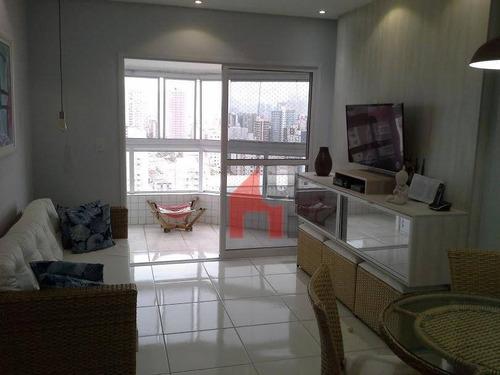 Apartamento À Venda, 78 M² Por R$ 585.000,00 - Guilhermina - Praia Grande/sp - Ap0657