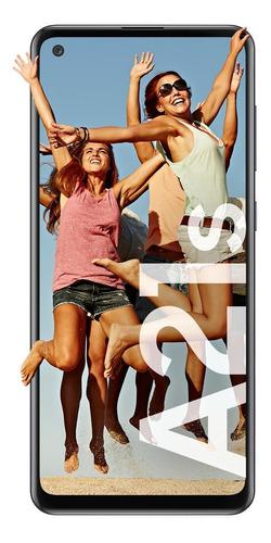 Imagem 1 de 7 de Samsung Galaxy A21s 64 GB preto 4 GB RAM
