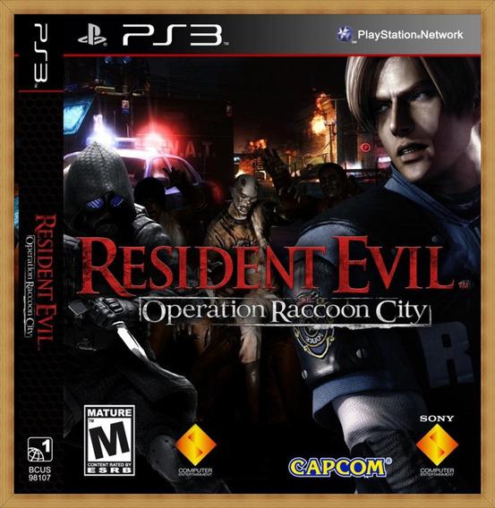 Resident Evil Operation Raccoon City Ps3 Psn Envio Rápido