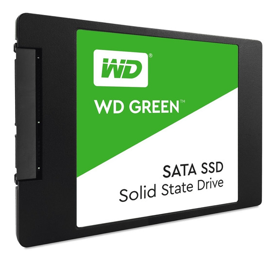 Hd Ssd 240gb Wd Green 2,5 Sata3 Novo Original
