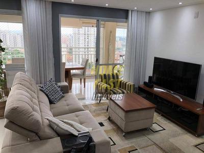 Apartamento No Parque Clube Com 4 Dormitórios À Venda, 134 M² Por R$ 999.000 - Vila Augusta - Guarulhos/sp - Ap1263
