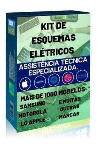 Pacote De 500 Esquemas E Manuais Elétricos Para Celular