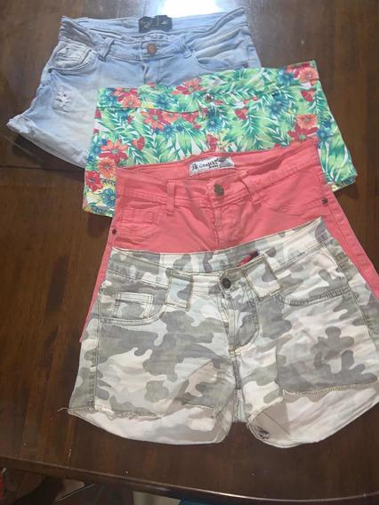 4 Shorts De Niña En Perfectas Condiciones Muy Baratos