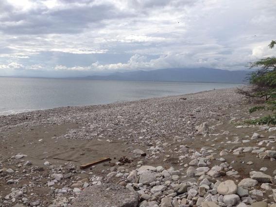 Terreno En Primera Línea De Playa - Palmar De Ocoa