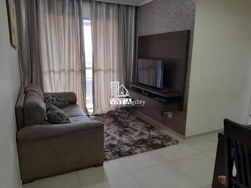 Apartamento Em Condomínio Padrão Para Venda No Bairro Vila Carmem, 3 Dorm, 1 Vagas, 62 M - 8273