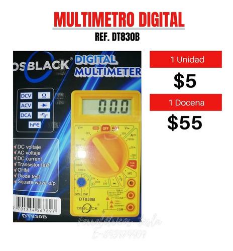 Multimetro Digital Tester Lcd Nuevo Dt830b