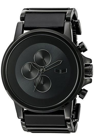 Relojes De Pulsera,acetato Negro Reloj Pla017 Plexi Mini..
