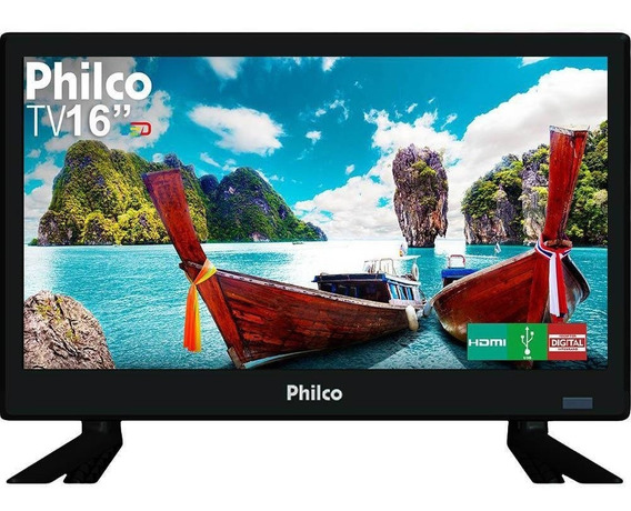 Tv Philco Led 16 Ptv16s86d Conv. Digital - Bivolt