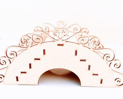 Imagen 1 de 7 de Candy Bar Puente Chupetines Souvenir - Mdf / Fibrofacil