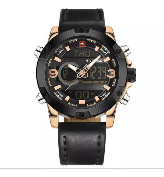 Relógio Masculino Naviforce Original Nf 9097+caixa Promoção