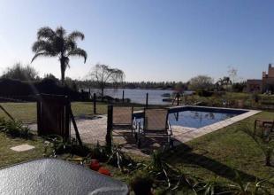 Venta De Hermosa Propiedad A La Laguna En El Barrio San Agustín- Villanueva. Tigre