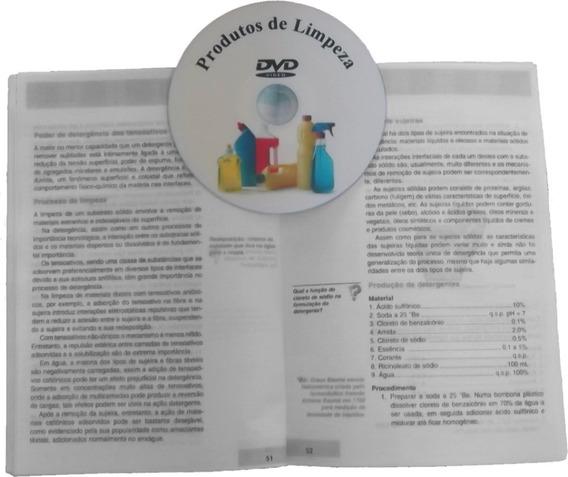 Dvd Fabrica De Produtos De Limpeza + Livro - Frete Grátis!!!