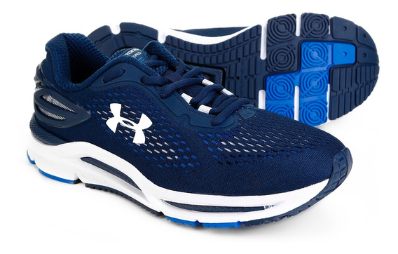 Tênis Under Armour Charged Spread Masculino Marinho Original