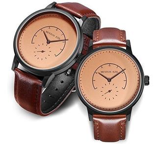 Reloj De Pareja De Madera Para Mujeres, Hombres, 30m, Reloje