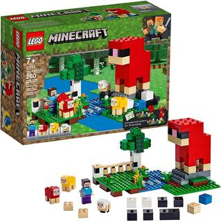 Bloques Lego Minecraft 21153 La Granja De Lana Educando