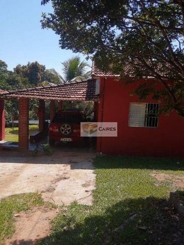 Imagem 1 de 30 de Chácara Com 6 Dormitórios À Venda, 2070 M² Por R$ 690.000,00 - Chácaras Bocaiúva Nova - Campinas/sp - Ch0120