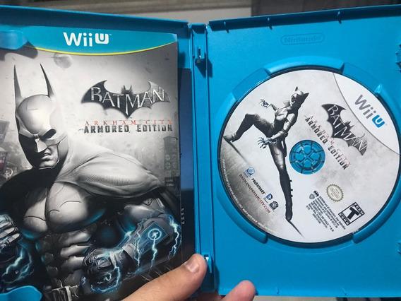 Wii U Batman Arkham City Armored Edition