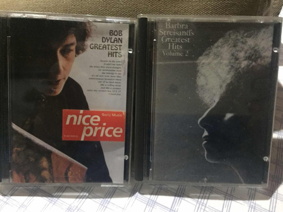 Mini Disc Bob Dylan E Barbra Streisands