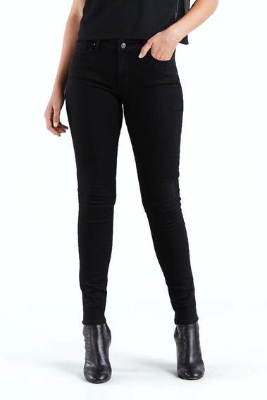 Jean Levi´s® Dama 711 Skinny Soft Black