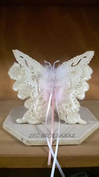 Adorno Figuras De Porcelana Fría Souvenir Mariposa