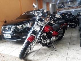Yamaha Drag Star 650, Vermelha, Motor 650cc