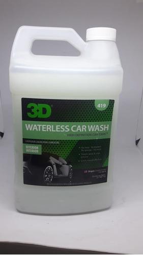 Imagen 1 de 2 de 3d Waterless Car Wash 1g Sist De Limpieza Sin Agua  Hg