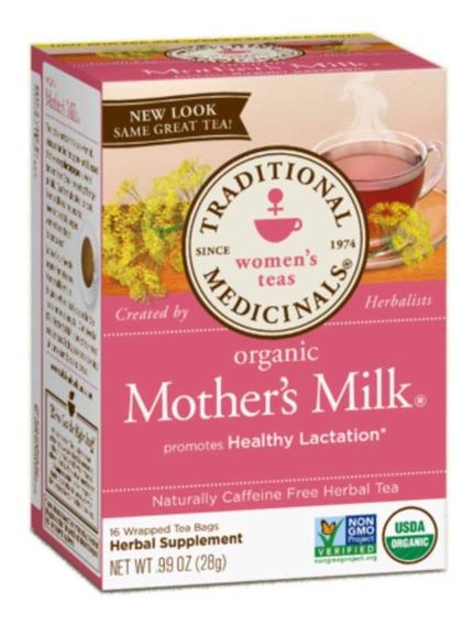 Te Organico Mothers Milk Traditional Medicinals 16 Sobres Se
