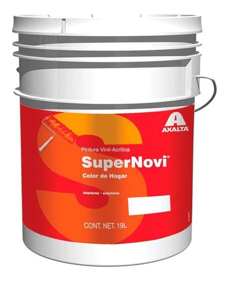 Pintura Acrílica Premium Mate 19l Blanco Supernovi Axalta