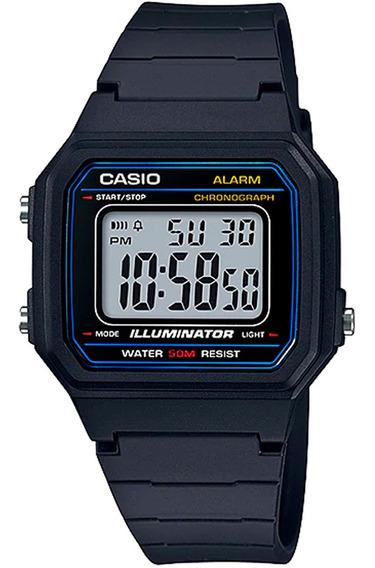 Relógio Digital Original Casio W-217h-1avdf Nfe Garantia