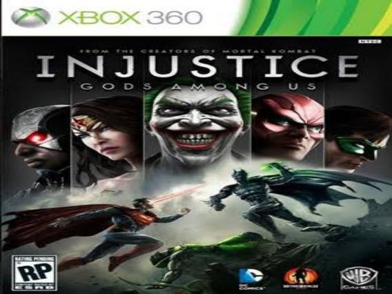 Injustice Xbox 360 E Xbox One Mídia Digital Original
