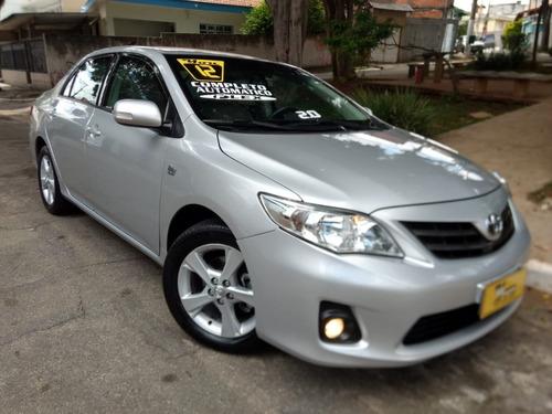 Toyota Corolla Xei Aut 2.0 Flex 2012 Prata Blindado Niii-a