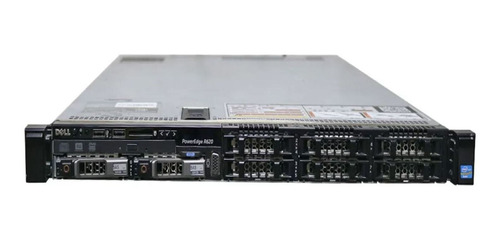 Servidor Dell R620, 2 Xeon Six Core, 64gb, 2 Sas 600 Gb