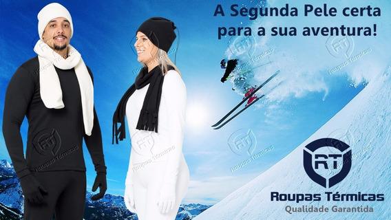 Blusa E Calça Segunda Pele Térmica Neve Frio Viagem Esportes