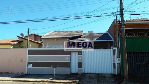 Imagem 1 de 30 de Casa Com 3 Dormitórios 1 Suíte, 152 M² Por R$ 583.000 - Jardim Antonio Von Zuben - Campinas/sp - Ca1589
