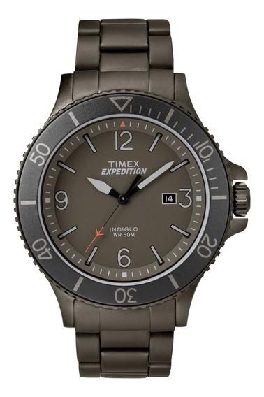 Reloj Timex Expedition Tw4b10800 Acero Negro Para Caballero