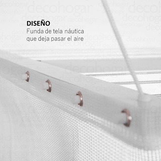 Funda Ropa Accesorio Techo Pared Grande Hollsen Cuotas