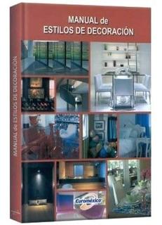 Libro De Arquitectura Manual De Estilos De Decoración