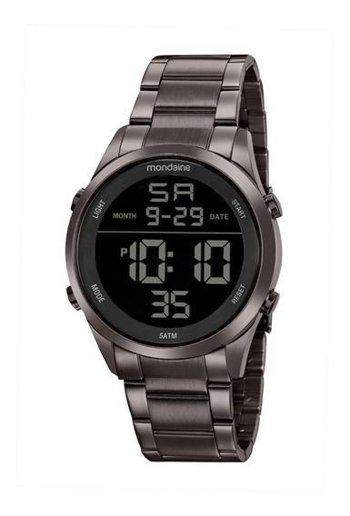 Relógio Masculino Mondaine Digital Cobre 53965gpmvse2 C/ Nf