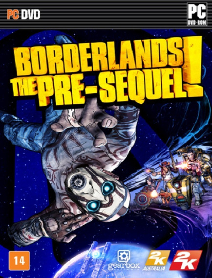 Borderlands The Pre Sequel Pc - Steam Key (envio Flash)