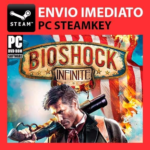 Bioshock Infinite - Steam Key Pc Original
