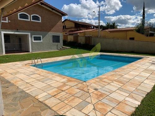 Linda Casa Em Atibaia Na Vila Giglio - 1037