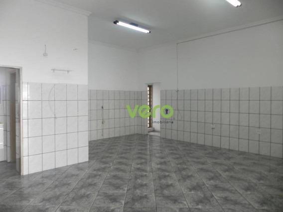 Salão Para Alugar, 79 M² Por R$ 1.800/mês - Jardim São Paulo - Americana/sp - Sl0025