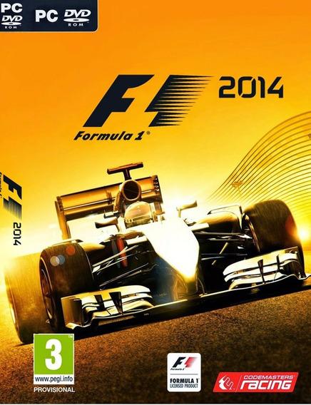 Formula 1 2014 Pc Envio Em 5 Minutos Original!!