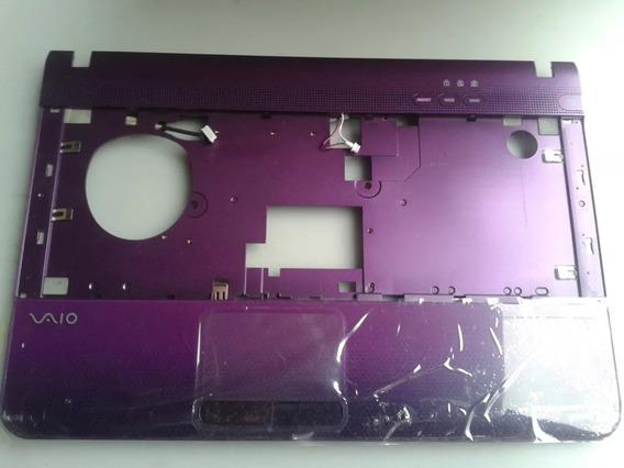 Carcaça Superior+touchpad Sony Vaio Pcg-71212m Nova Roxa