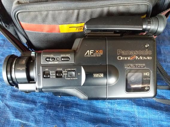 Filmadora Panasonic Omnimovie Mini Af - X6ccd (1990)