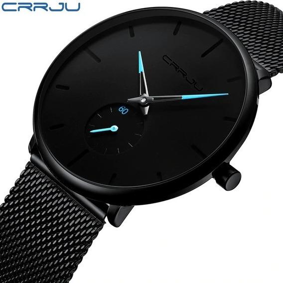Relógio Masculino Crrju 2150 - ( Pronta Entrega)