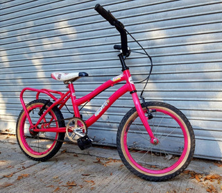Bicicleta Niños Niñas Rodado 16 Rosa Buen Estado.